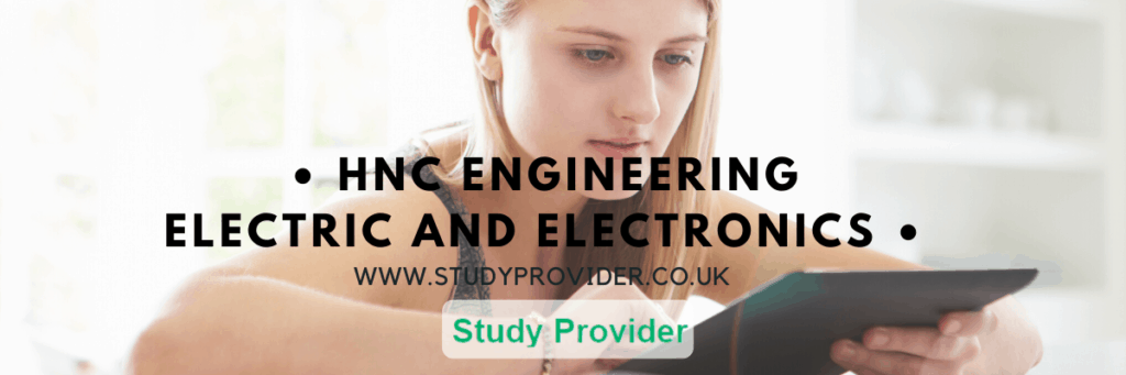 HNC Engineering Electric and Electronics