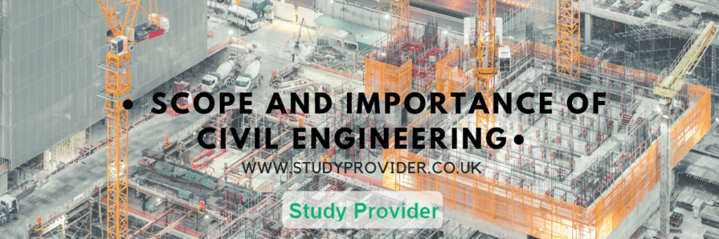Scope and Importance of Civil Engineering