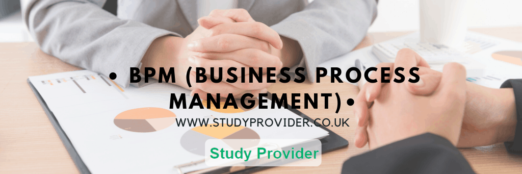 BPM (Business Process Management – HNC & HND Business Management