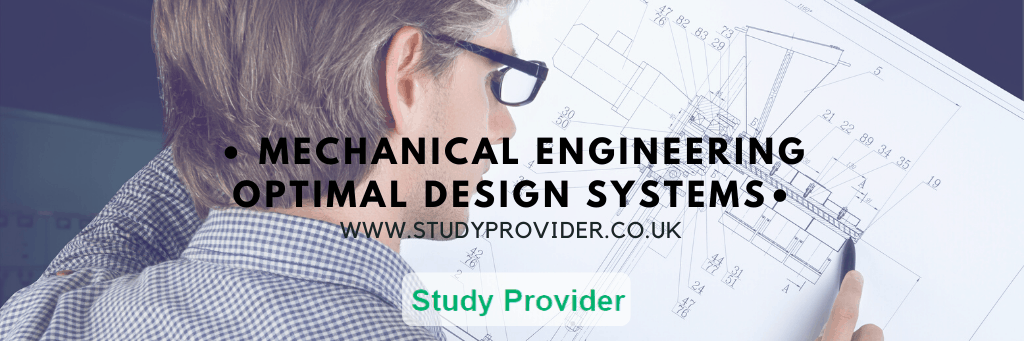Mechanical Engineering Optimal Design Systems – Mechanical Engineering