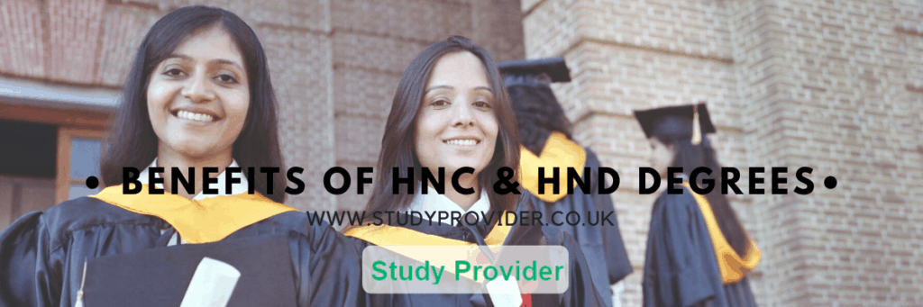 Benefits of HNC & HND Degrees